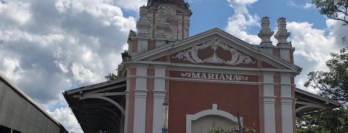 Estação Ferroviária de Mariana is one of Lugares favoritos de Thais.