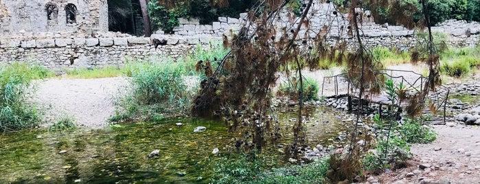 Piskoposluk Sarayı /Triclinium is one of Antalyada gezmelik, görmelik, yüzmelik.