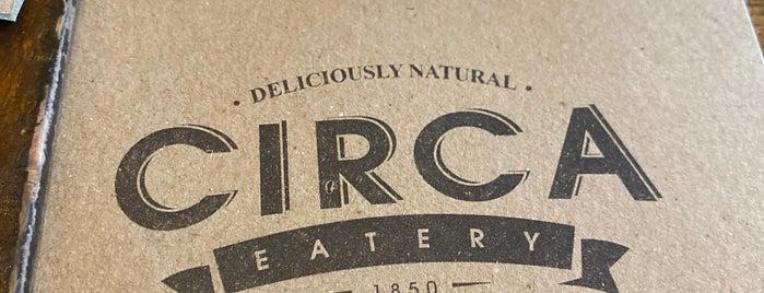 Circa Eatery 1850 is one of Peachy'ın Beğendiği Mekanlar.