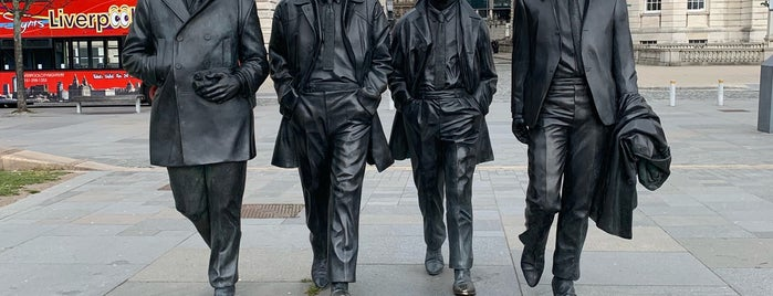 The Beatles Statue is one of Pool.
