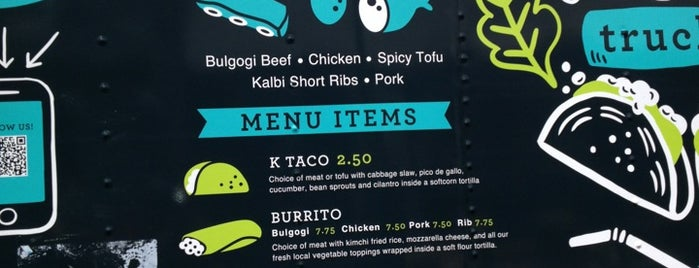 Koi Fusion Truck is one of Top Food Carts!.