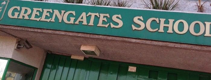 Greengates School is one of Lieux qui ont plu à Pierre.