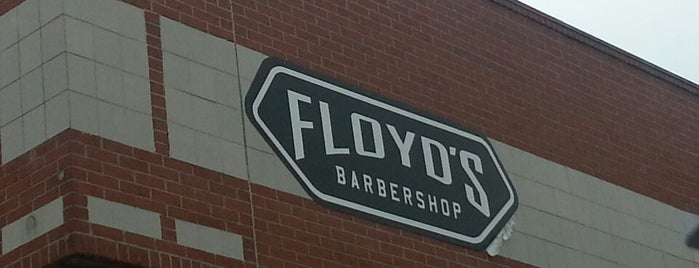 Floyd's 99 Barbershop is one of Young Mins Favs.