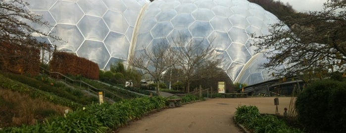 The Eden Project is one of Cornwall.