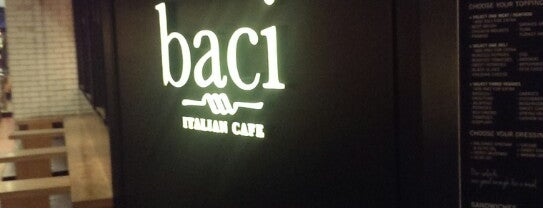 Baci Italian Cafe is one of Kopi Places.