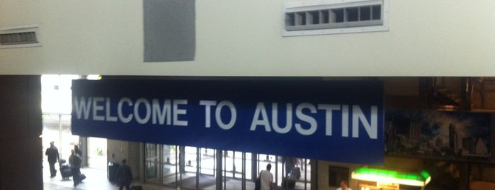 Austin Bergstrom International Airport (AUS) is one of SXSW 2013.