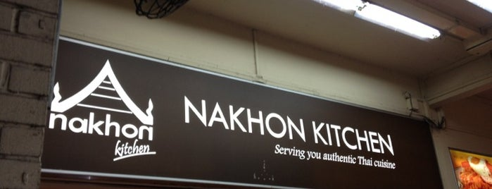 Nakhon Kitchen is one of Locais curtidos por Liping.
