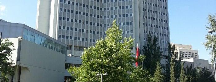 T.C. Dışişleri Bakanlığı is one of Gespeicherte Orte von Serkan.