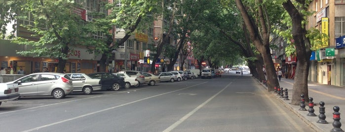 Necatibey Caddesi is one of themaraton.