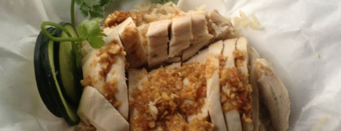 Nong's Khao Man Gai is one of Portland/Oregon.