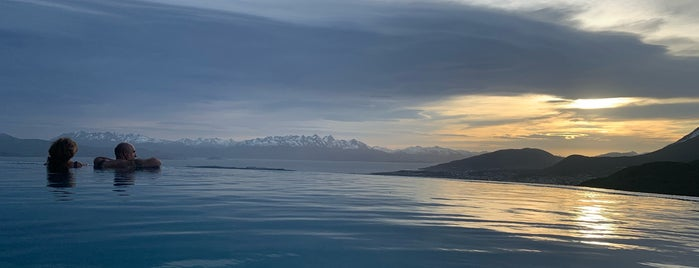 Arakur Ushuaia Resort & Spa is one of Amex Mag.