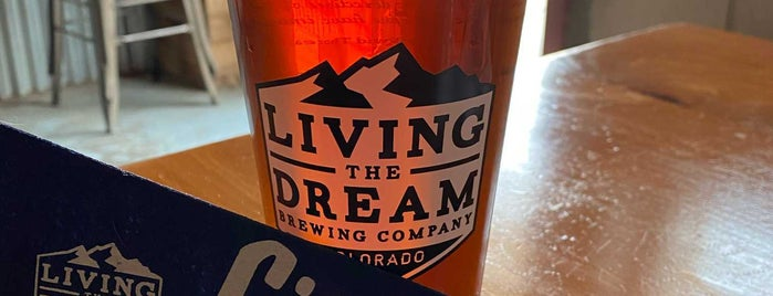 Living The Dream Brewing is one of Lieux qui ont plu à Marie.