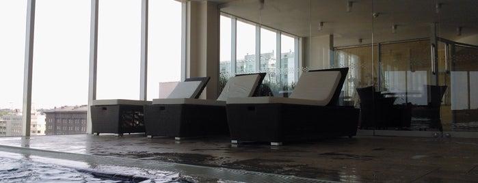 Nordic Hotel Forum Leisure Centre is one of Любимые места в Таллинне.