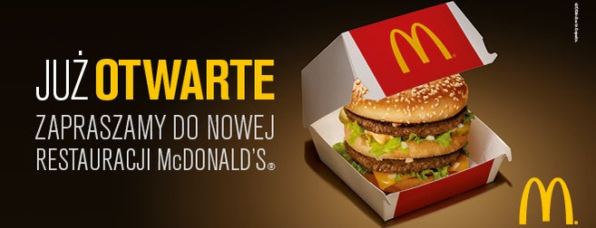 McDonald's is one of Foursquare Specials in Poland.