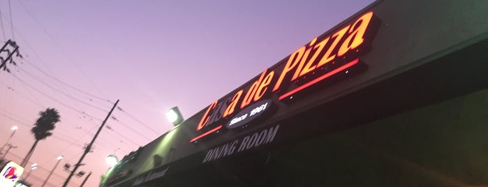Casa de Pizza is one of North Valley Food Finds.