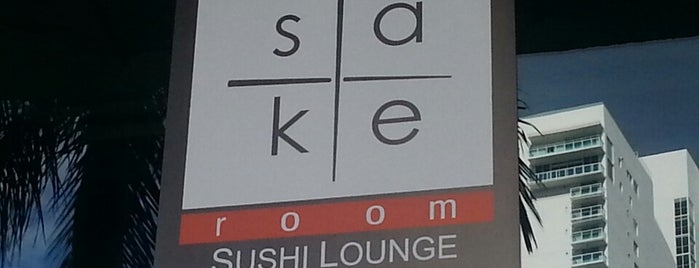 Sake Room is one of Sushi.