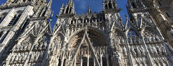 Place de la Cathédrale is one of Tempat yang Disukai Marc.