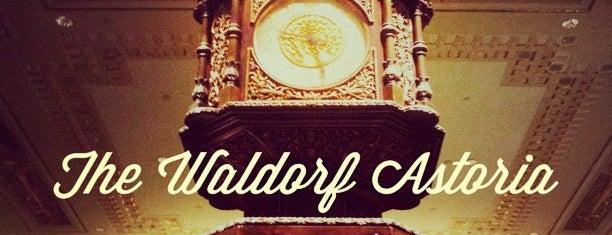 Waldorf Astoria New York is one of #myhints4NewYorkCity.