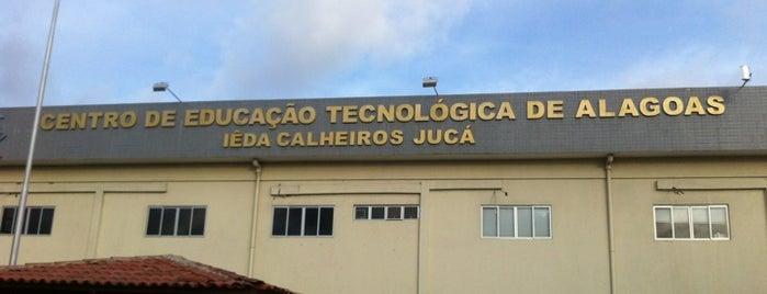FAT - Faculdade Alagoana de Tecnologia is one of Studio S Cabelo e Estética - by Selma Rodrigues.