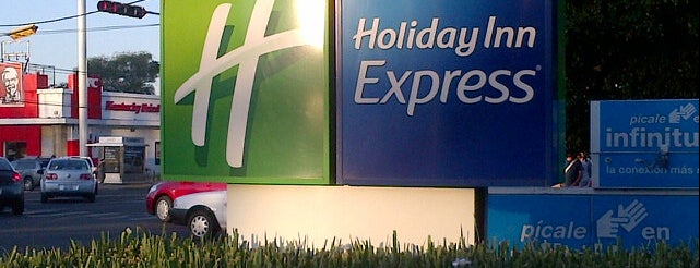 Holiday Inn Express is one of Hoteles / Hotels @ GDL.