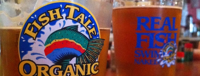 Fish Tale Brew Pub is one of Olympia Vegan Spots.