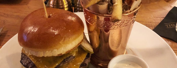 The Dearborn is one of Chicago: Favorite Burgers.
