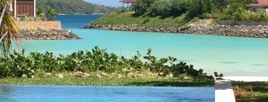 Eden Island is one of Seychelles.