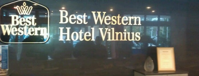 Best Western Hotel Vilnius is one of Vladimirさんのお気に入りスポット.
