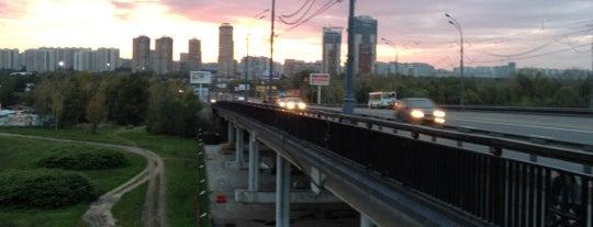 Строгинский мост is one of Posti che sono piaciuti a Anna.