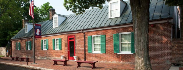 James Monroe Museum and Memorial Library is one of 20 of the Best off the Beaten Path Museums in D.C..