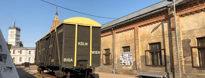 Rīgas geto un Latvijas holokausta muzejs is one of Riga.