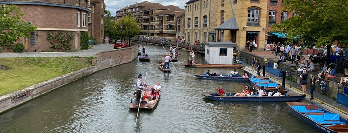 Scudamore's Quayside Punting Station is one of Cambridge.