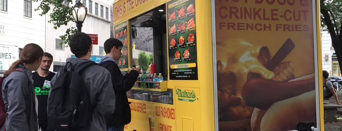 Nathan's Famous is one of Food Truck.