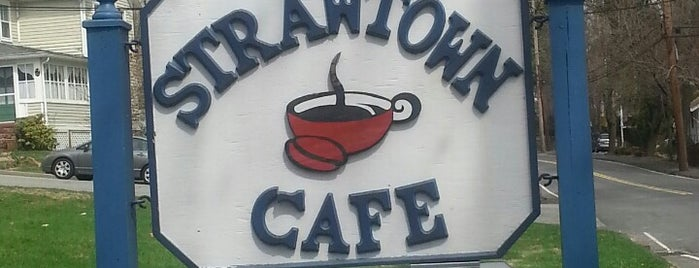 Strawtown Cafe is one of Lugares guardados de Lizzie.
