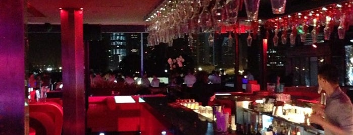 Bar Rouge is one of Les plus beaux rooftops !.