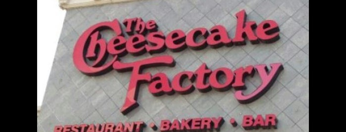 Anne Rice's Cheesecake Factory is one of New orleans.