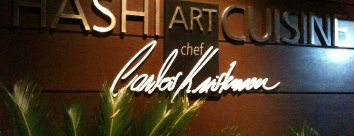Hashi Art Cuisine is one of Restaurantes Preferidos.