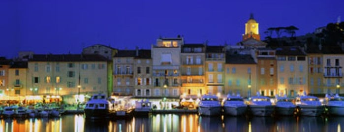 Saint-Tropez is one of Cote d'azur.
