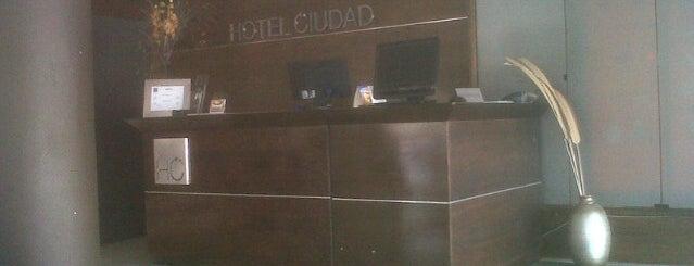 Hotel ciudad is one of Ali 님이 좋아한 장소.