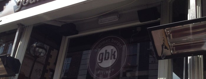 Gourmet Burger Kitchen is one of Dublin List.