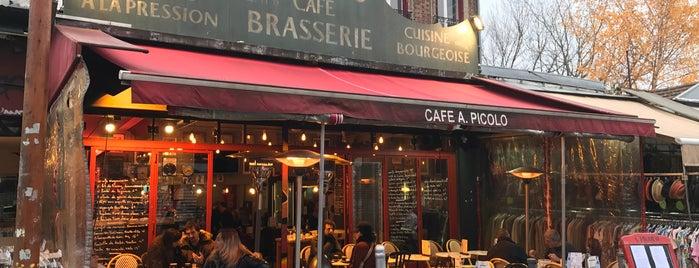 Café A. Picolo is one of Fleur's Paris.