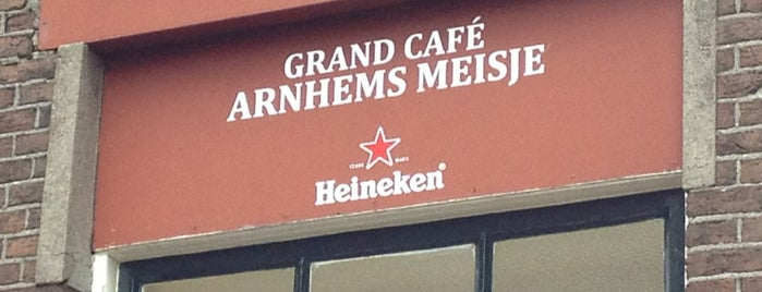 Grand Café Arnhems Meisje is one of Back to Netherlands ♥.