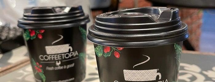 Coffeetopia is one of Discover Kadıköy.