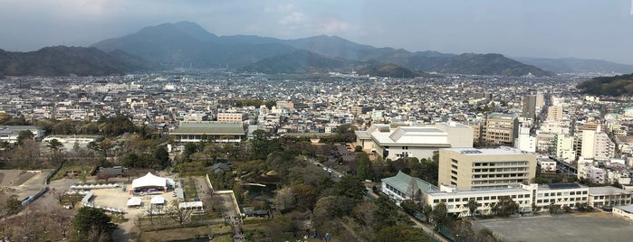 静岡県庁別館 展望ロビー is one of Masahiroさんのお気に入りスポット.