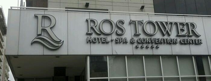 Ros Tower - Hotel, Spa & Convention Center is one of Rosario.