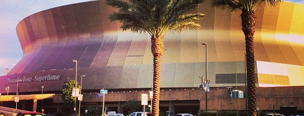 Mercedes-Benz Superdome is one of The Most Popular Football Stadiums in the US.