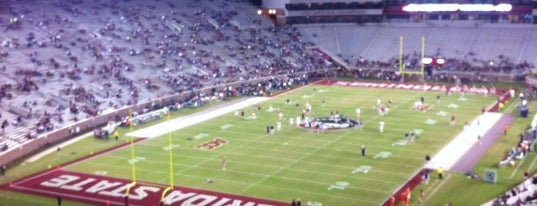 Doak Campbell Stadium is one of Tallahassee, FL #visitUS #tallahassee.