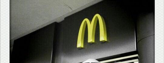 McDonald's is one of #LoveE1.