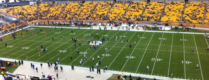 Heinz Field is one of All Things Sporting Venues....