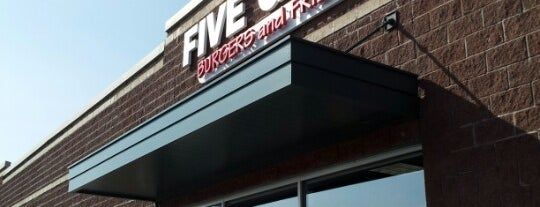 Five Guys is one of Gourmands' Delight.